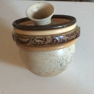 Jewelry - Vintage brown and tan bangle stack